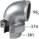 96 CODO UNION ASIENTO CONICO H/H - Válvulas de Seguridad, mariposa y retención